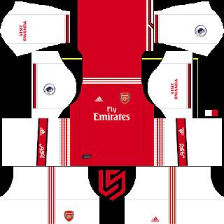 Arsenal FC 2019-2020 DLS/FTS Dream League Soccer Kits ve Logo