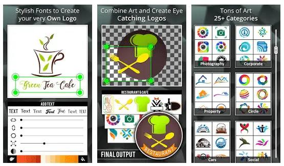 logo maker aplikasi membuat logo di android