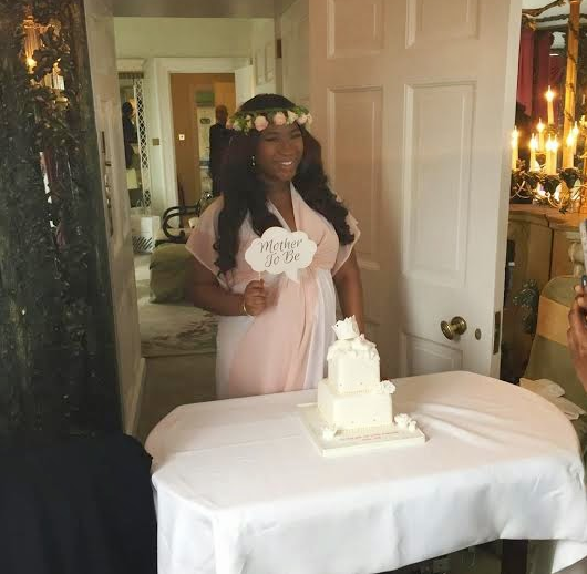 Images of tiwa savage wedding dress