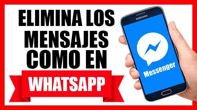 Cómo recuperar mensajes borrados  de Whatsapp por la otra persona