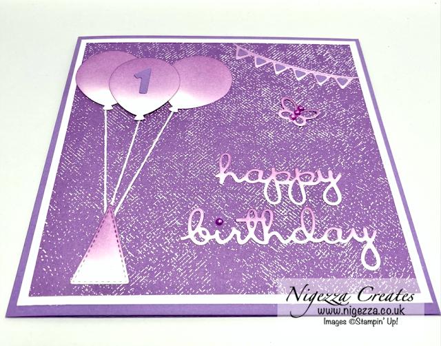 Fun Child's Party Balloon Birthday Card