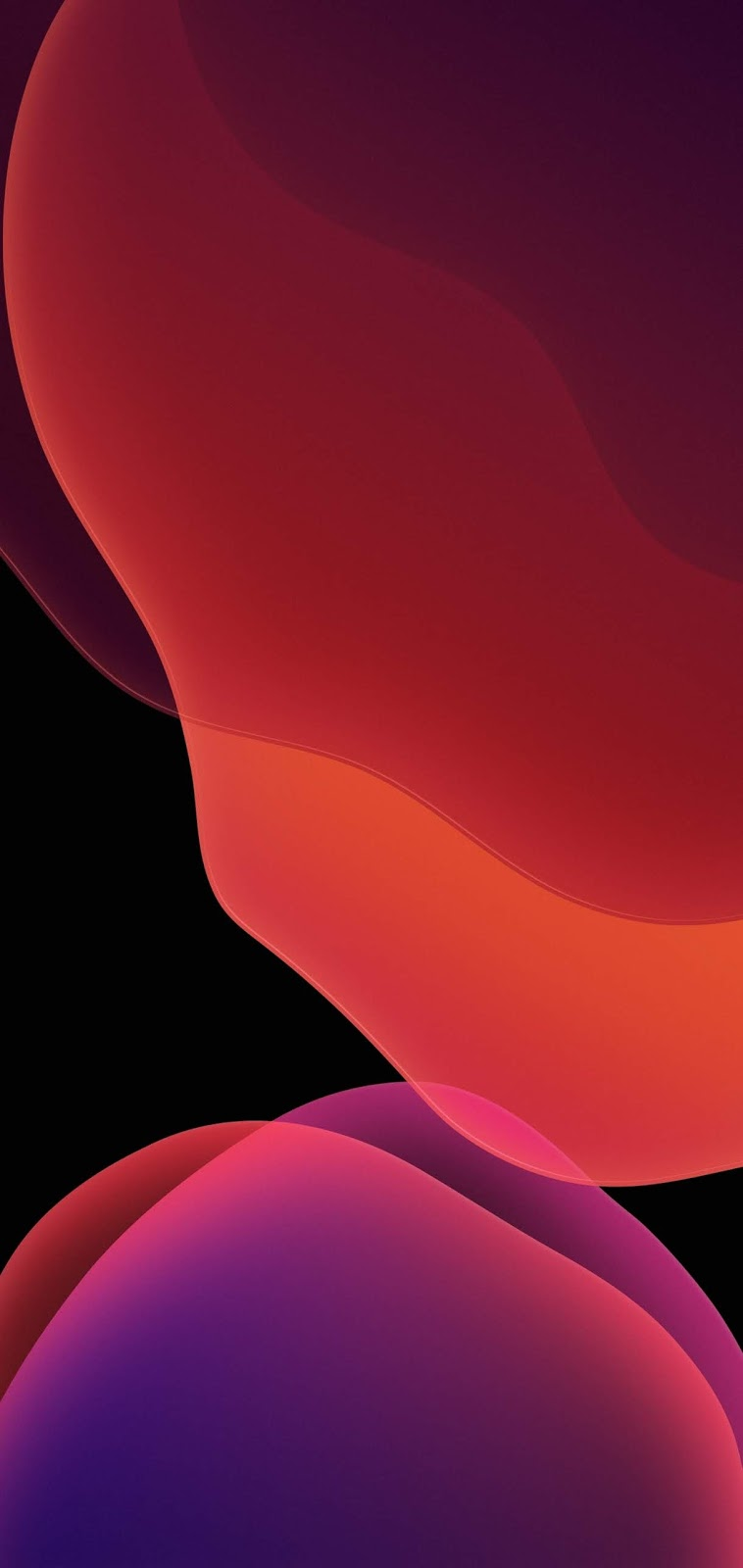 iOS 13 Wallpapers (8 colors)
