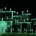 Casa de luces con el tema Matrix