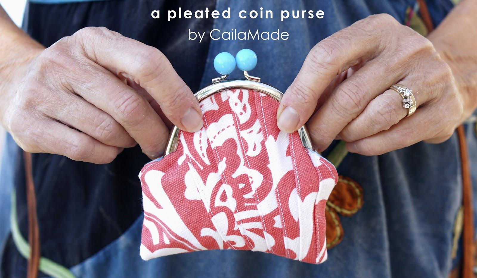 Pleated Coin Purse Tutorial