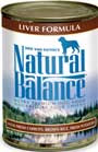 Picture of Natural Balance Ultra Premium Beef Formula Canned Dog Food