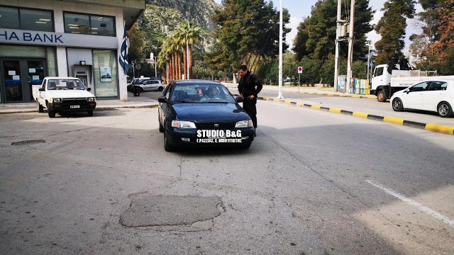 Πρόστιμα σε 34 παραβάτες στην Πελοπόννησο για άσκοπες μετακινήσεις