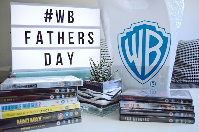 #WBFathersDay event goodie bag