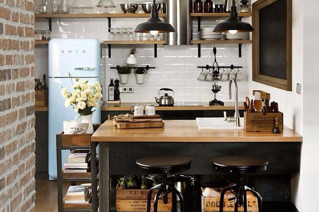 15 Design Dapur Kecil yang Membuat Memasak Lebih Cepat