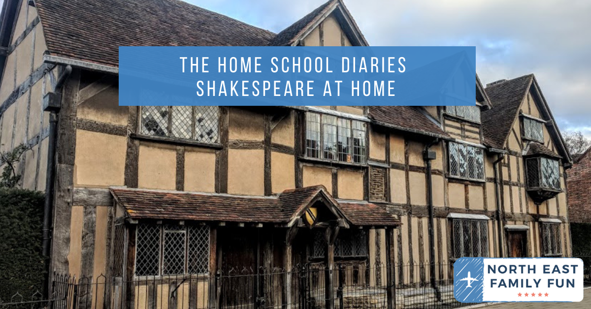 The Home School Diaries - March 2020