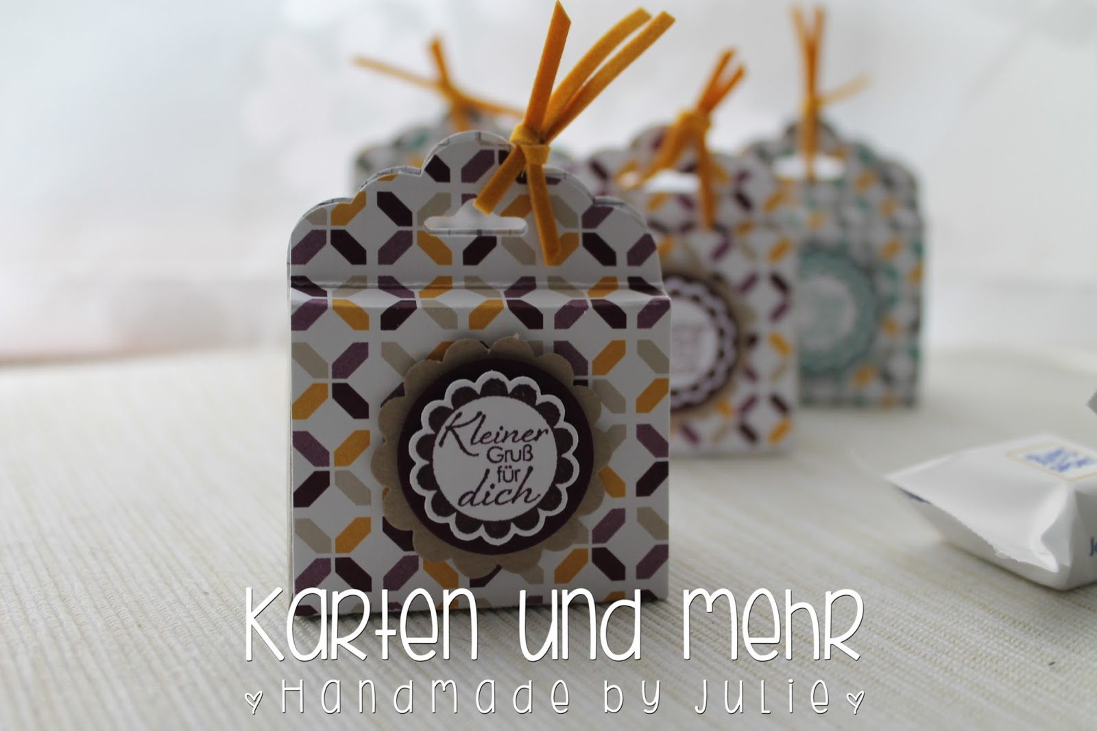 Ritter Sport Verpackung Stampin' Up!