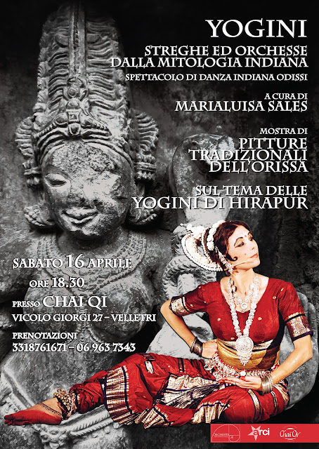 danza yogini hirapur danza indiana roma