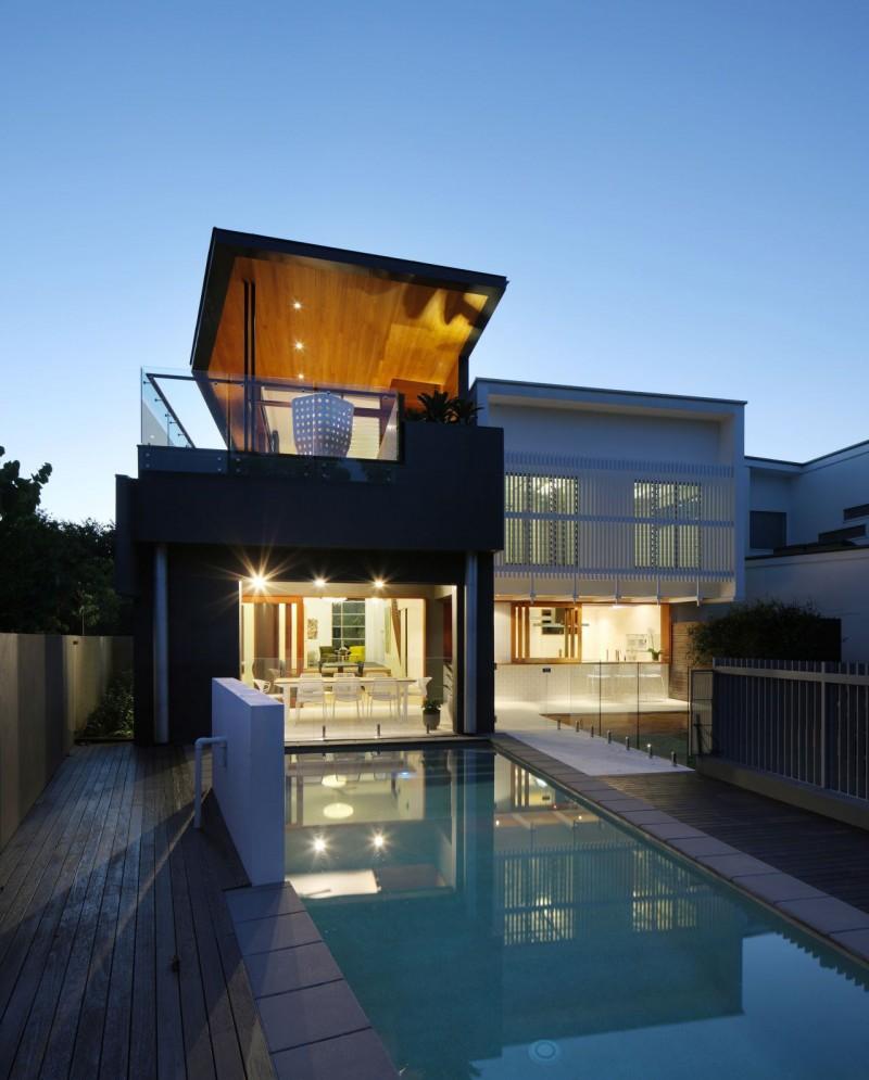 Hogares frescos la casa contempor nea del parque en australia - La casa del parque ...