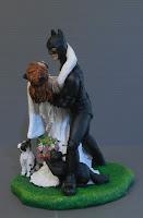 statuette e modellini fumetti film personalizzate sposi per torta orme magiche