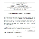 carta referencias personal