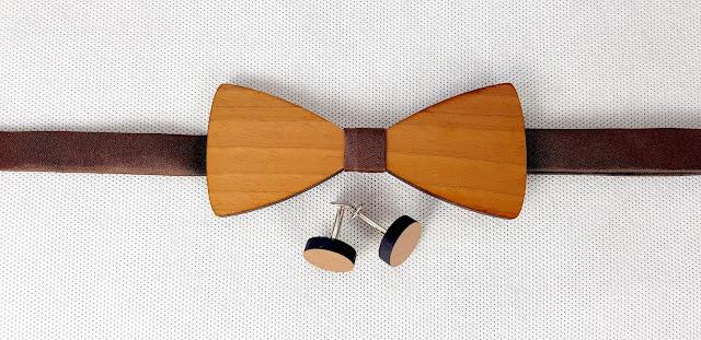 mucha drewniana spinki do mankietów wynajem dodatki ślubne rzeszów ślubnażyczenie