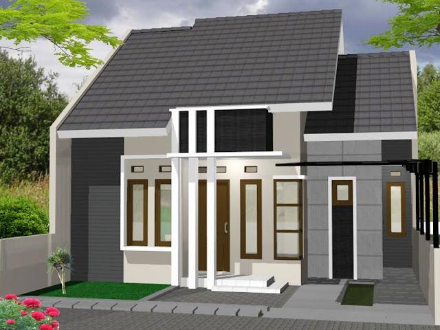 Contoh desain rumah minimalis tipe 36