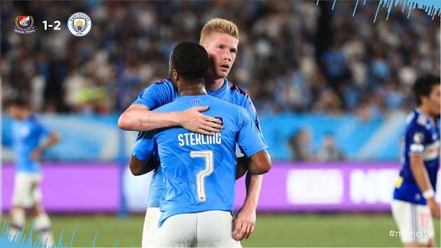 Raheem Sterling Kevin De Bruyne Manchester City