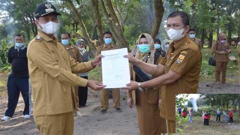 Walikota Pariaman Serahkan SK Plt Kadis Sosial