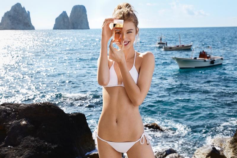 Dolce & Gabbana 'Light Blue Sun' Fragrance Campaign