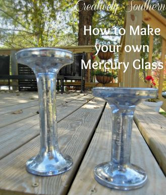 How to Make Your Own Mercury Glass