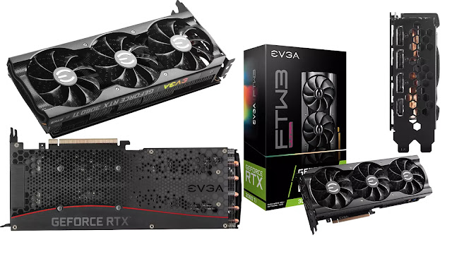 EVGA-GeForce-RTX-3060-Ti-FTW3-Ultra-Gaming-Box-Front-top-Side-Rear-IO-Views