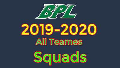 BPL 2019-2020 all teams final squad