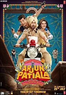 Arjun Patiala (2019) Hindi Movie Mp4 Download mp4moviez
