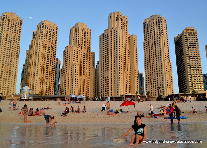 Beach Time at JBR beach Dubai