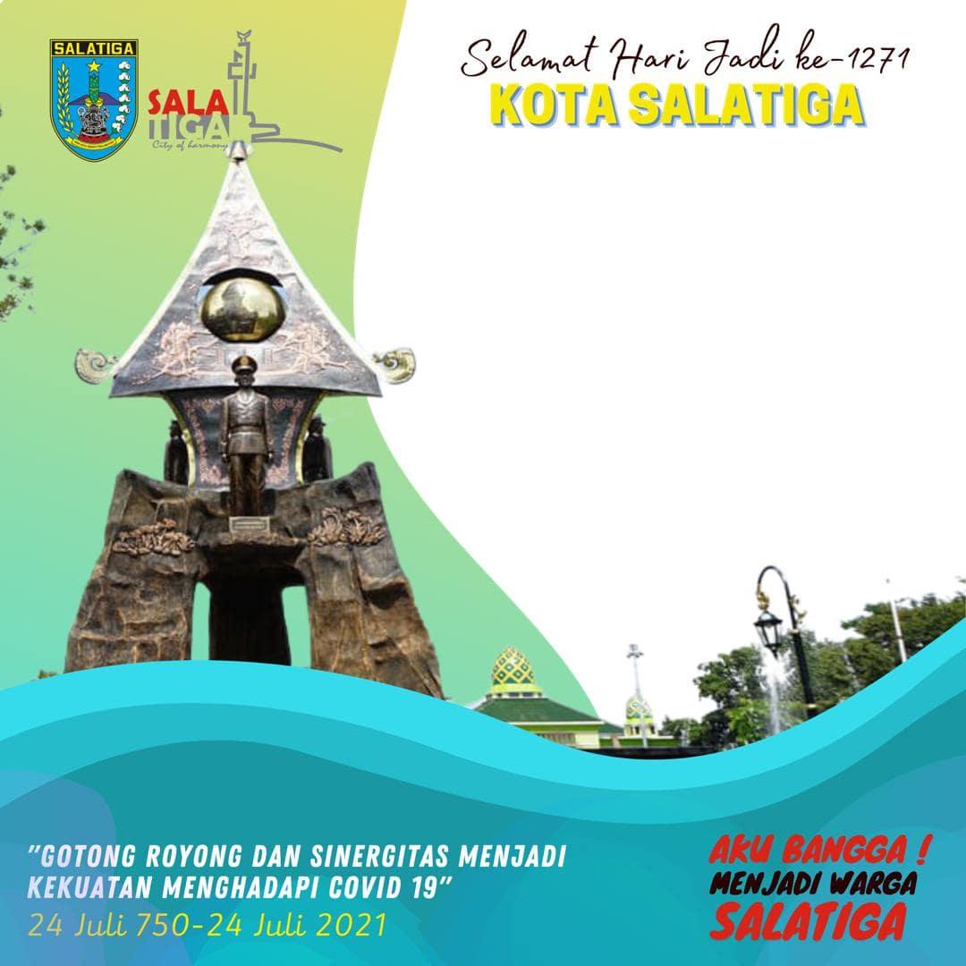 Link Download Bingkai Foto Twibbon HUT Kota Salatiga ke-1271 Tahun 2021
