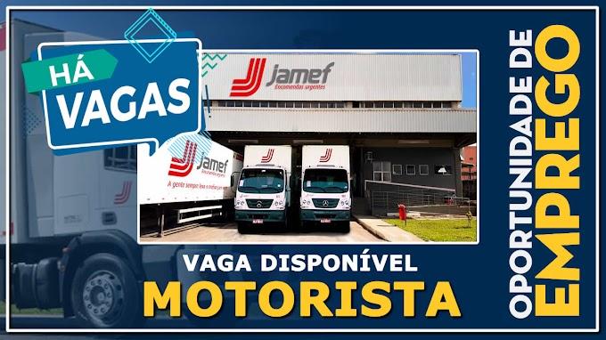 Transportadora Jamef abre diversas vagas para Nova unidade