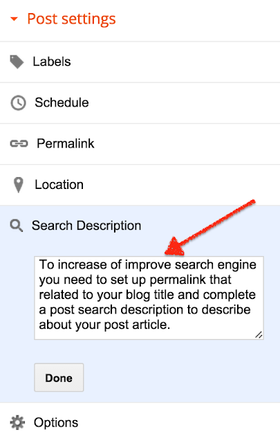 2 Things to improve SEO When you Create  A Post