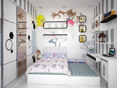 Tips Mendesain Interior Kamar Tidur Untuk Anak