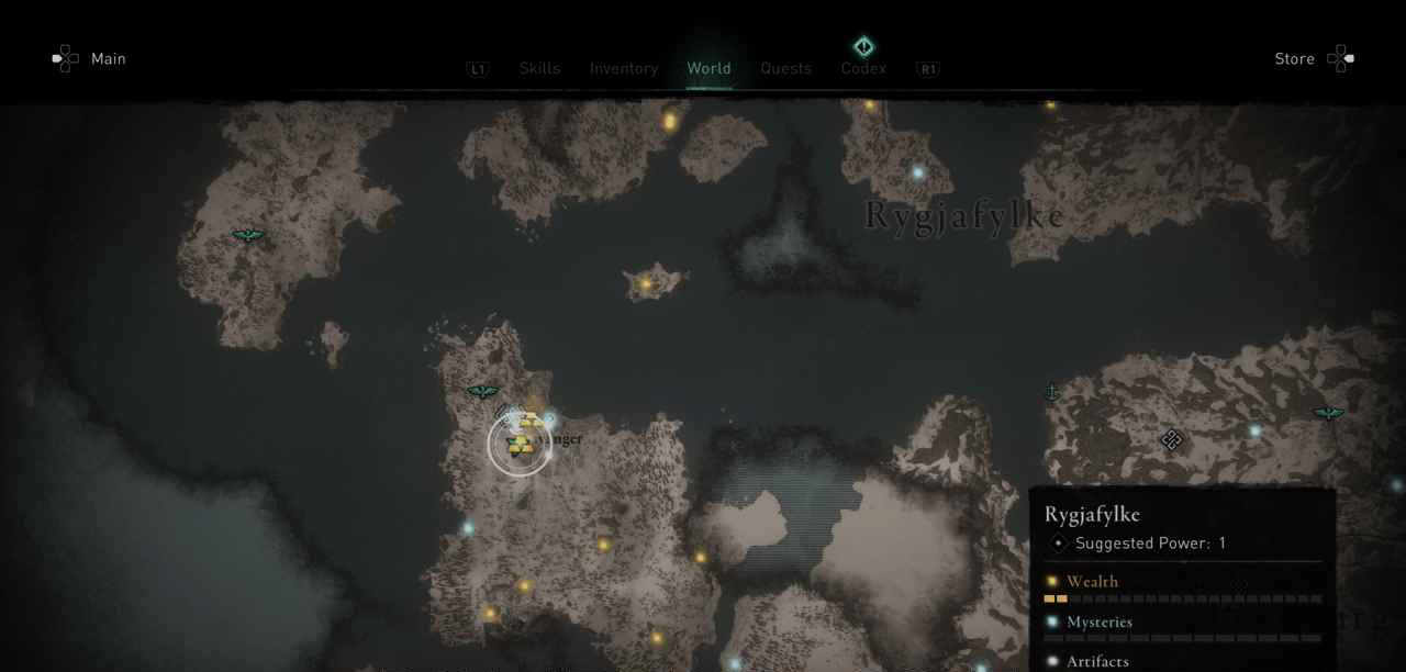 Ingot 3 Map
