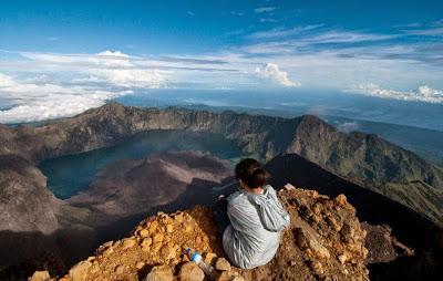 Mount Rinjani Summit 3726 m
