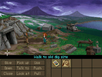 Pantallazo videojuego Indiana Jones and the Fate of Atlantis