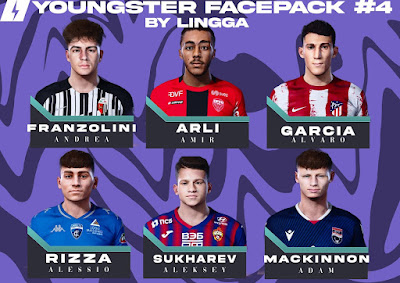PES 2021 Youngster Facepack 4 by Lingga