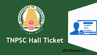 TNPSC College Librarian Hall Ticket