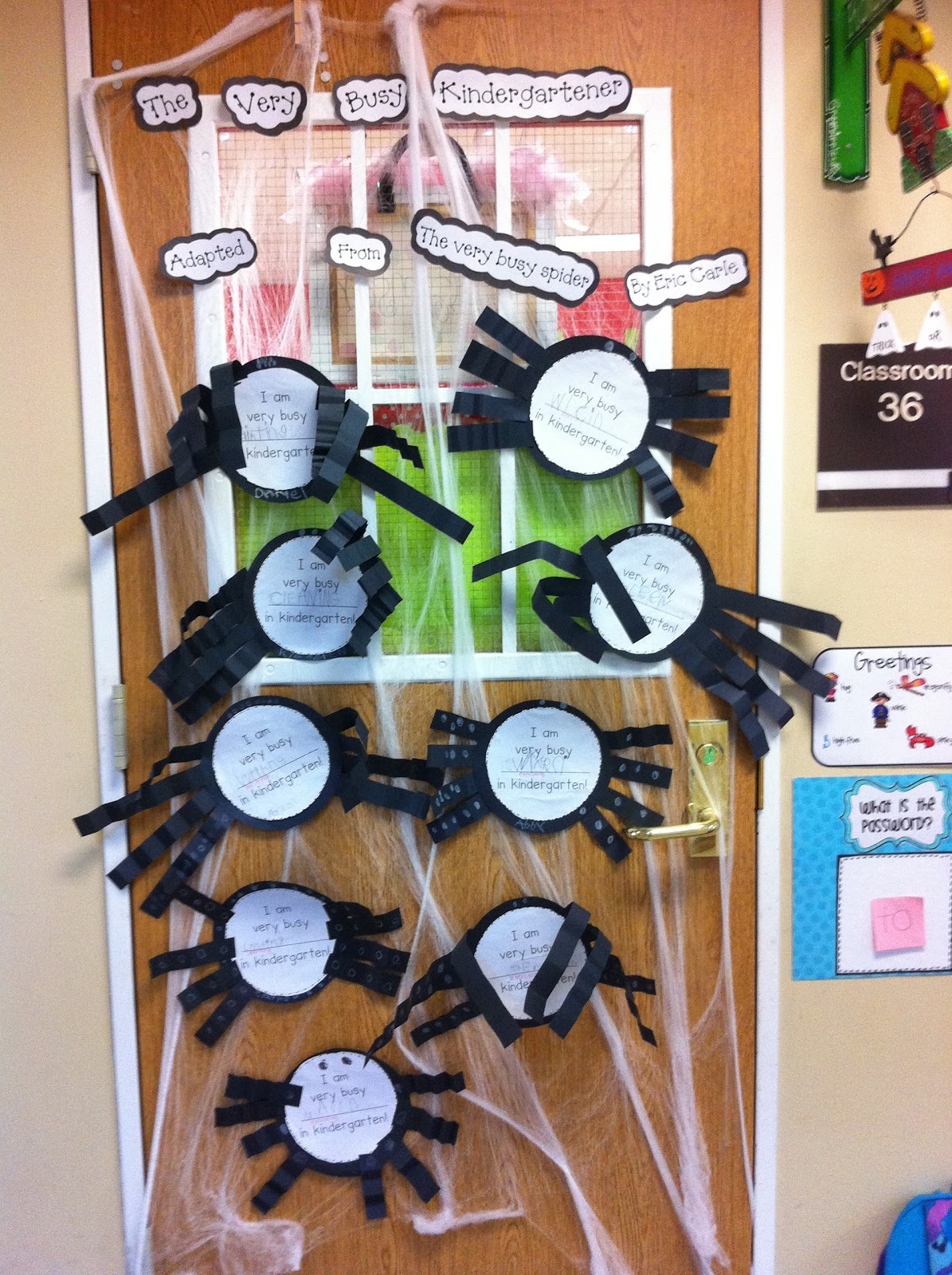 Welcome To Room 36 Spiders
