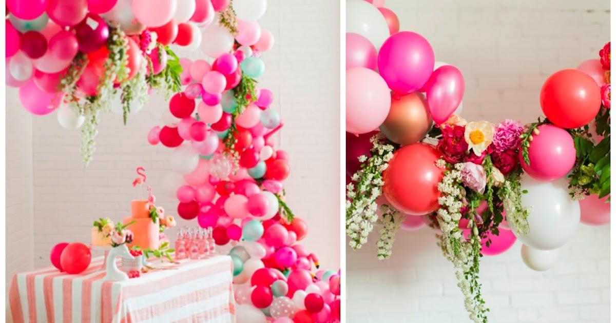 Gu a de flores con globos - Guia para decorar ...