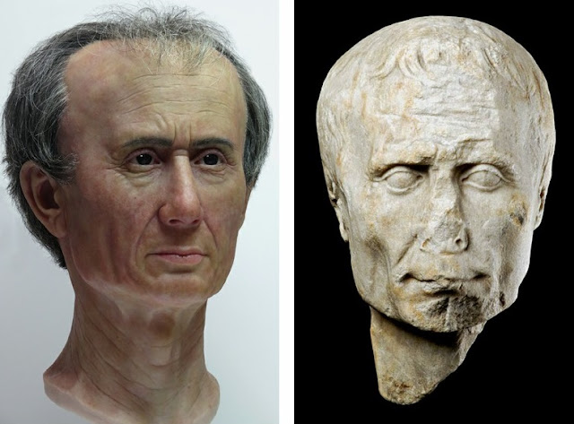 Julius Caesar may have been less heroic than previously imagined