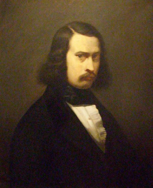 Жан Франсуа Милле - Автопортрет. 1841