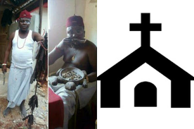 Native Doctor and church