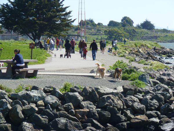 Walking San Francisco Bay: Point Isabel, Richmond - April 3, '11