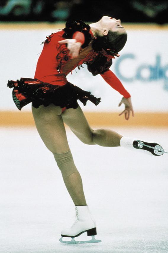 Classic Hotties: Katarina Witt, German Figure Skater