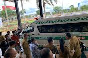 Bupati Terima Bantuan Ambulance Dari Pemprov