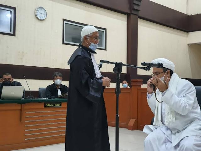 Eksepsi HRS Ditolak Lagi, Kali Ini Kasus RS UMMI, Hakim Perintahkan Pemeriksaan Menyeluruh
