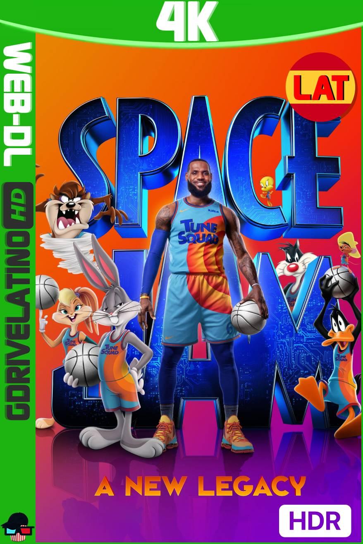 Space Jam: Una Nueva Era (2021) HMAX WEB-DL 4K HDR Latino-Ingles MKV