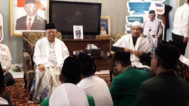 Ada Foto Bak Wapres di Rumah Ma'ruf Amin, Kini Dicopot