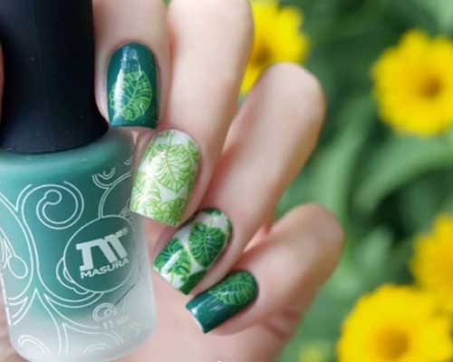 easy fall nail art designs