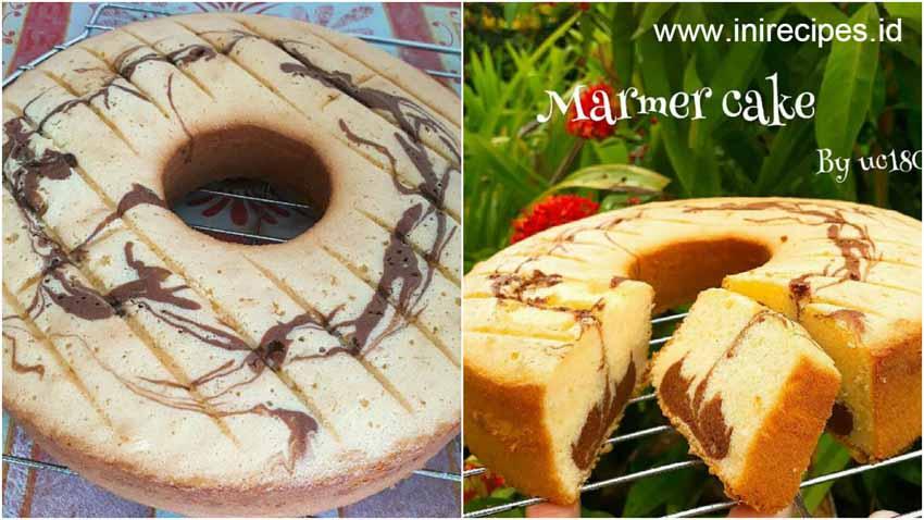 Resep Membuat Marmer Cake